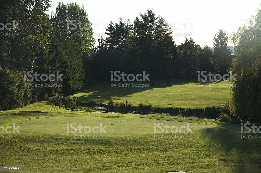 Ninth Hole royalty-free stock photo