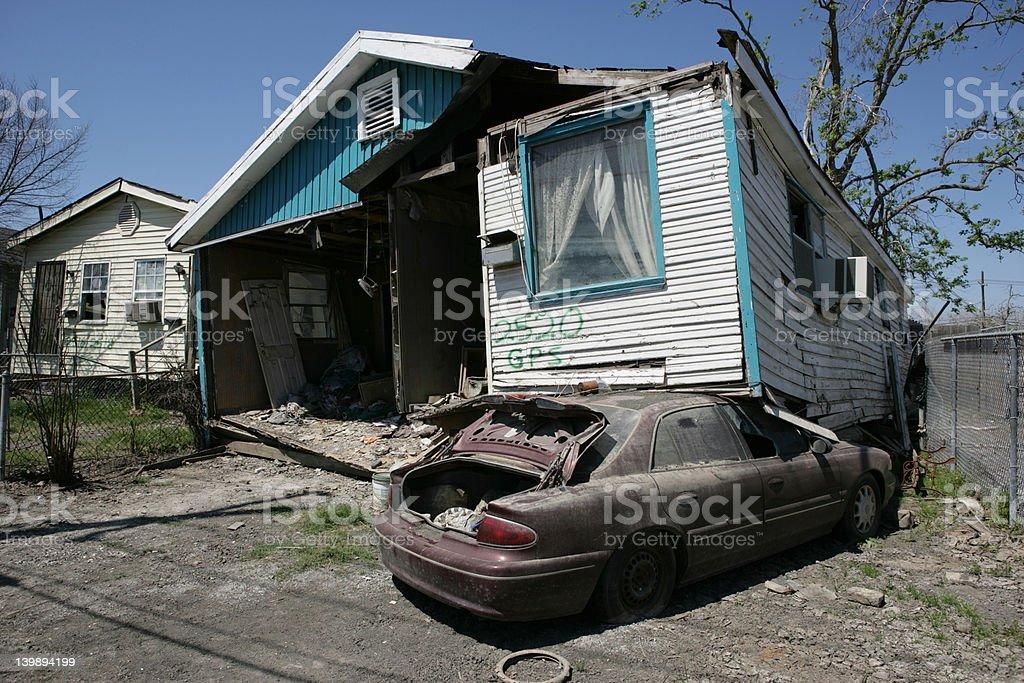 Ninth Ward Home stock photo