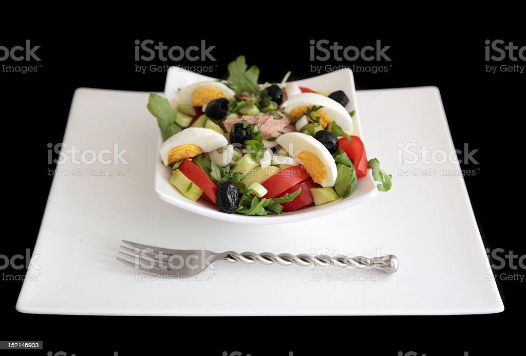 Niçoise Salad royalty-free stock photo