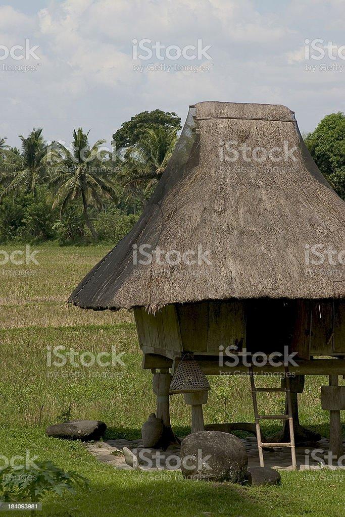 Nipa Hut royalty-free stock photo