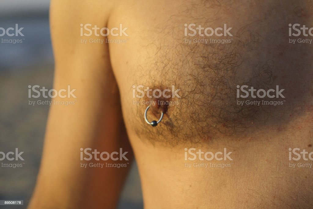 Nipple Ring royalty-free stock photo