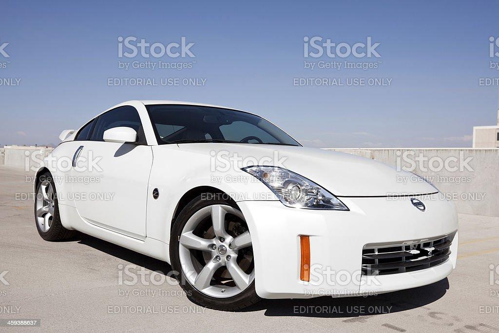 Nissan 350z 2006 stock photo