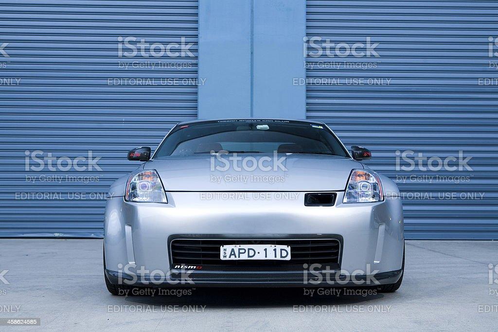 Nissan 350Z stock photo