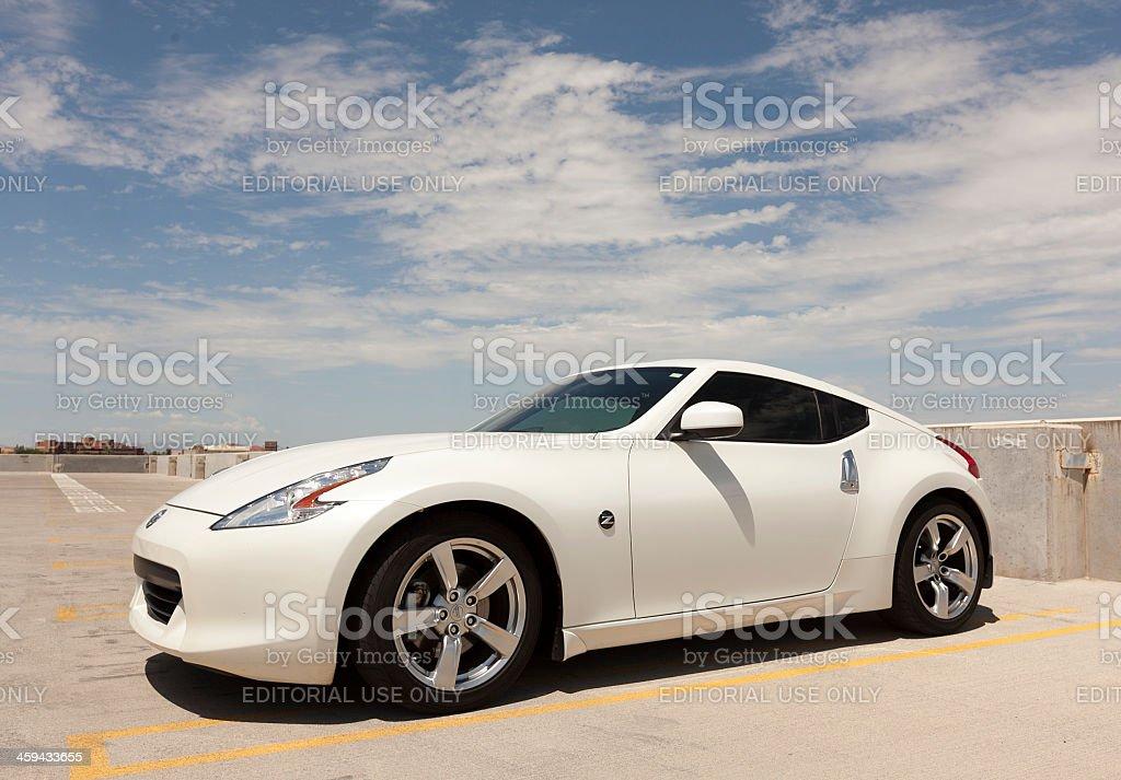 Nissan 370z stock photo