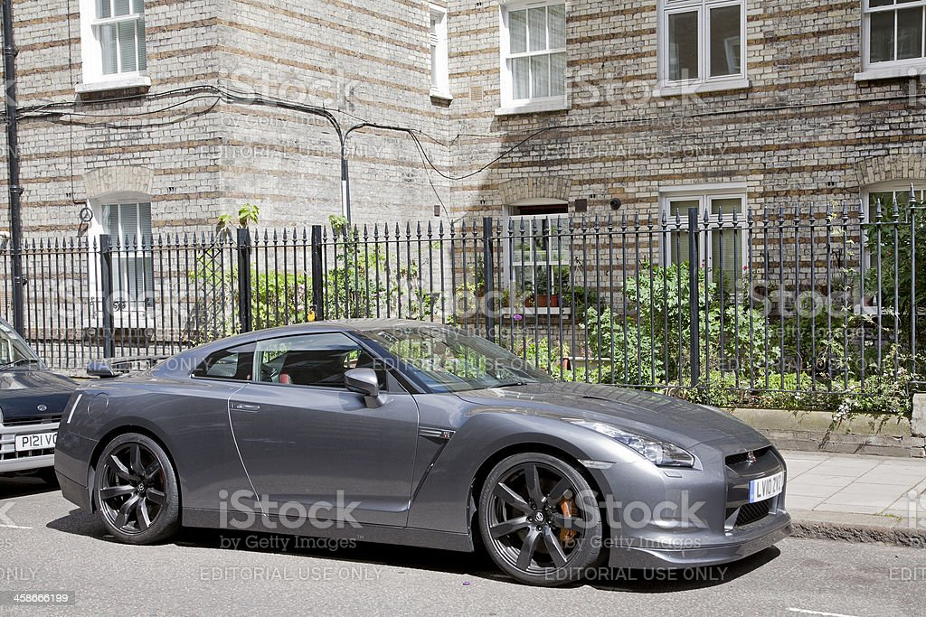 Nissan GT-R royalty-free stock photo