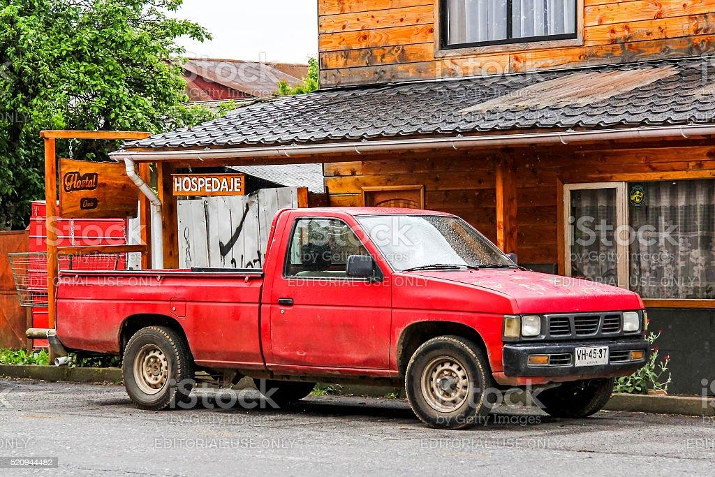 Nissan Hardbody stock photo