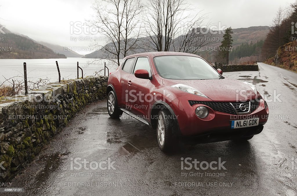 Nissan Juke 2011 UK Model stock photo