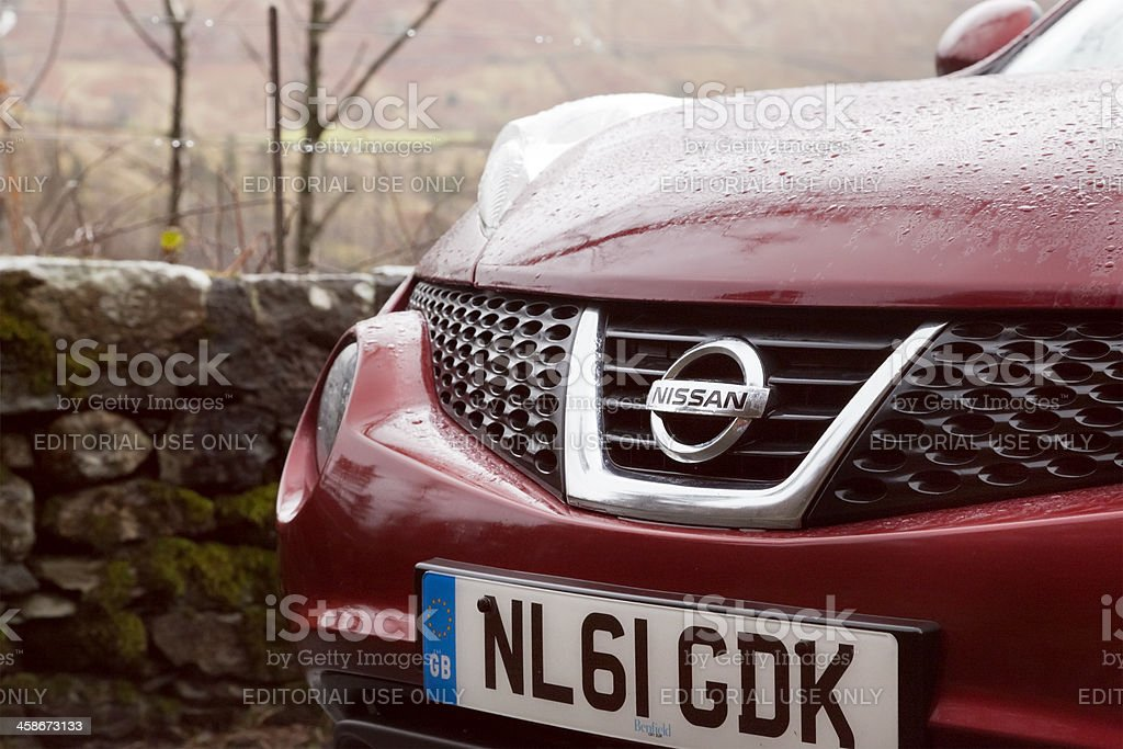 Nissan Juke 2011 UK Model stock photo