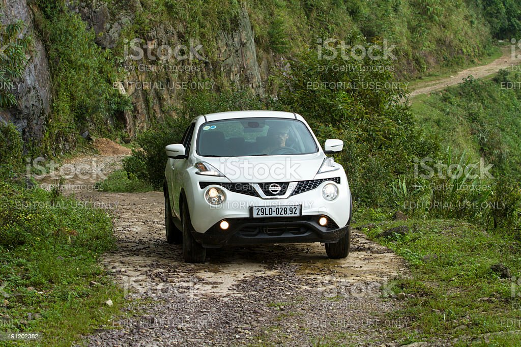 Nissan Juke 2015 car stock photo