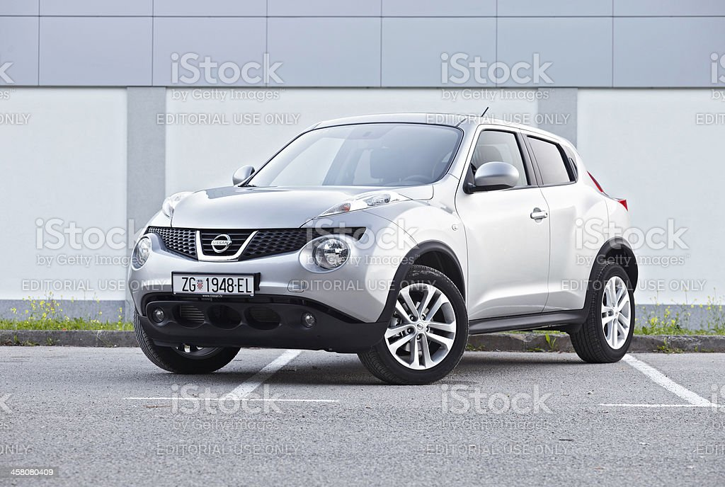 Nissan Juke front stock photo