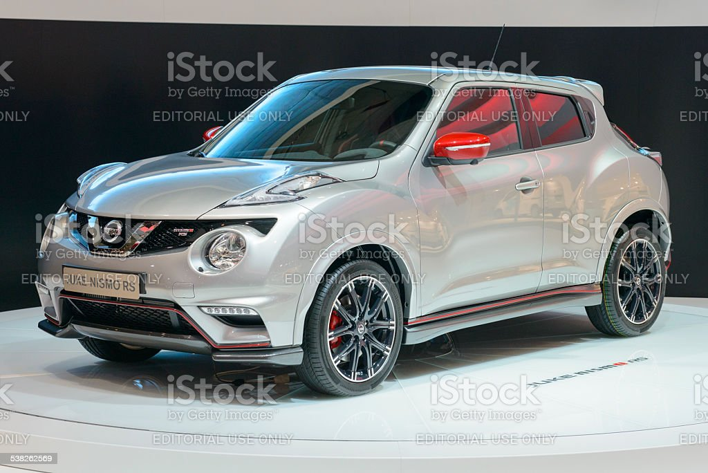 Nissan Juke Nismo RS crossover stock photo