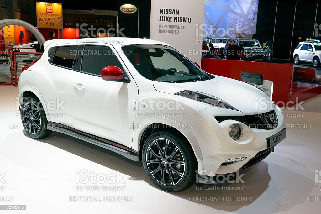 Nissan Juke stock photo