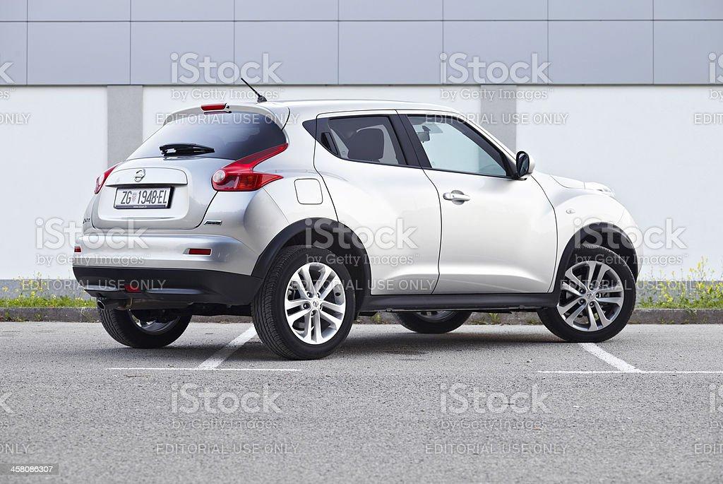 Nissan Juke rear royalty-free stock photo