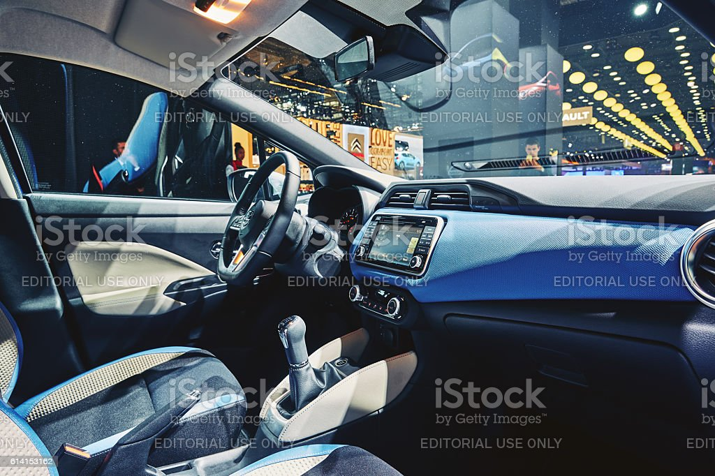 2017 Nissan Micra stock photo