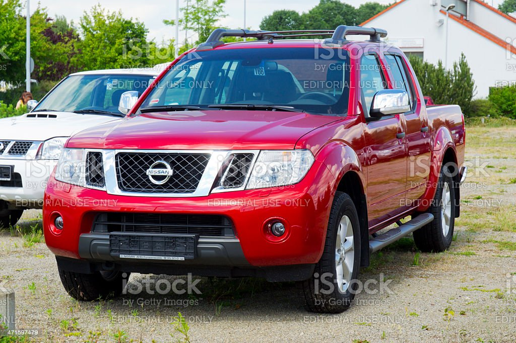 Nissan Navara Pickup stock photo