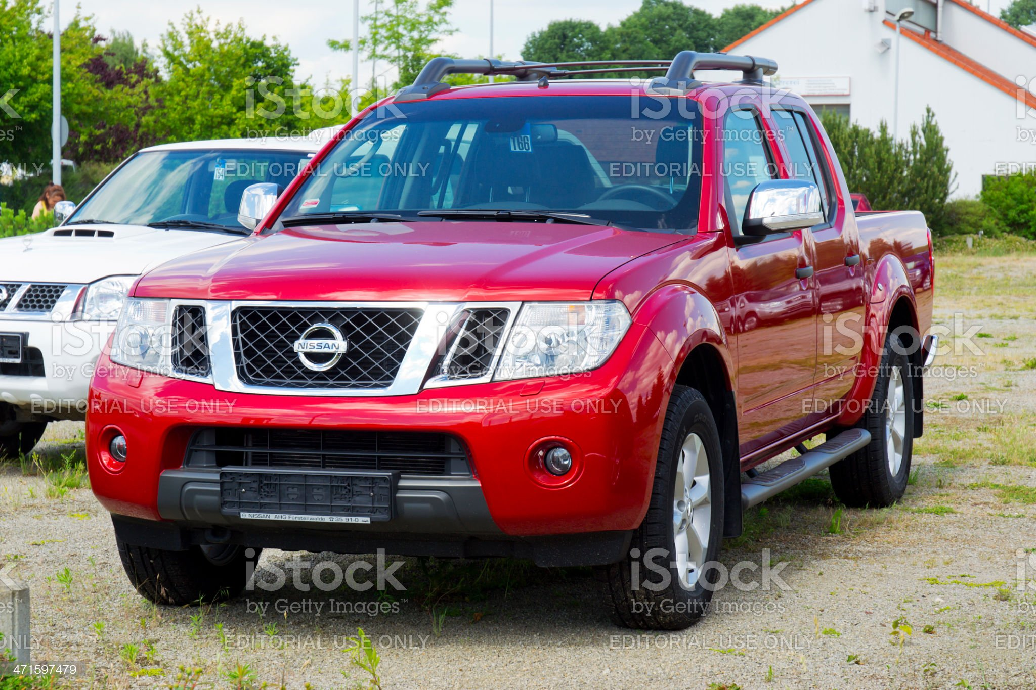 Nissan Navara Pickup royalty-free stock photo