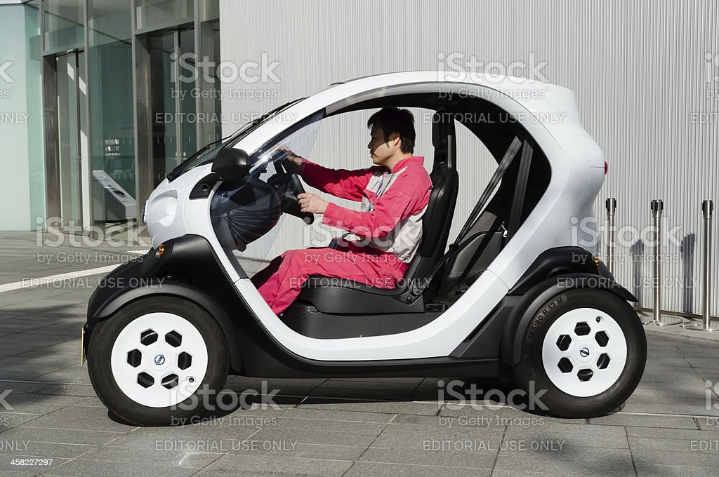 Nissan New Mobility Concept royalty-free stock photo