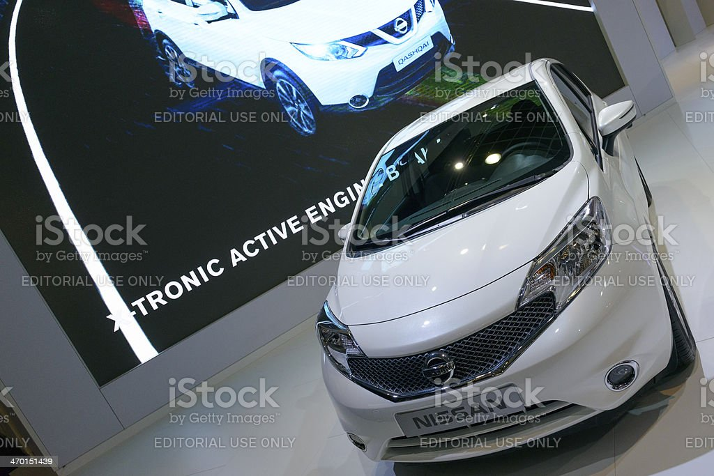Nissan Note royalty-free stock photo
