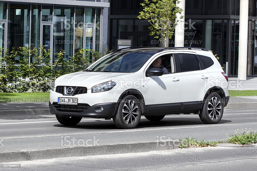 Nissan Qashqai royalty-free stock photo