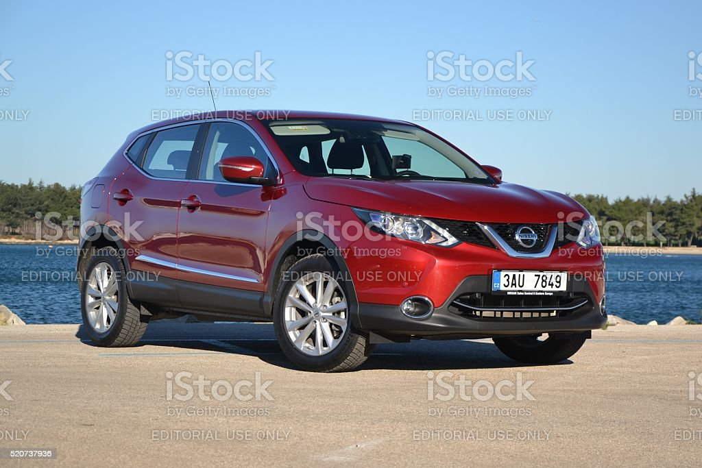 Nissan Qashqai - the most popular crossover in Europe stock photo
