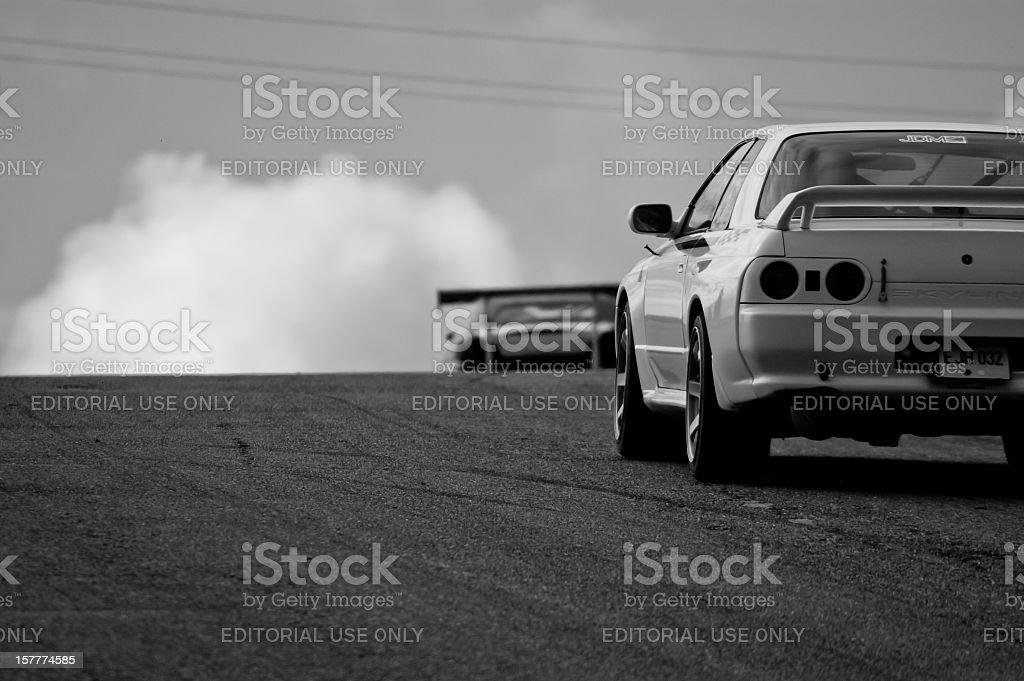 Nissan Skyline R32 GTR stock photo