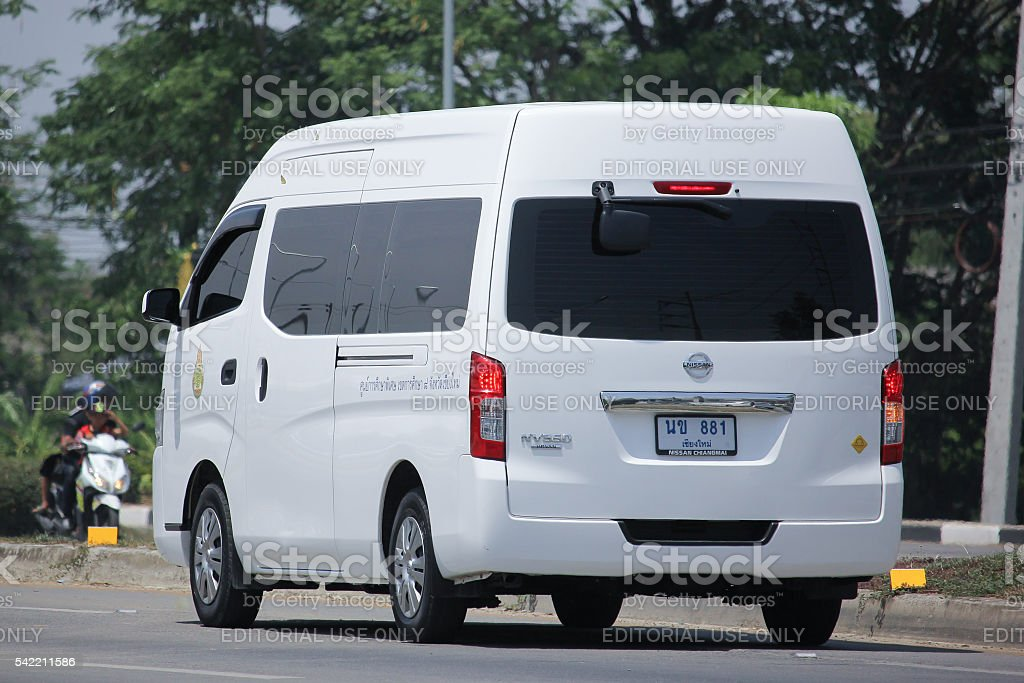 Nissan Urvan NV350 stock photo