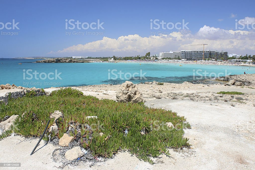 Nissi Beach royalty-free stock photo