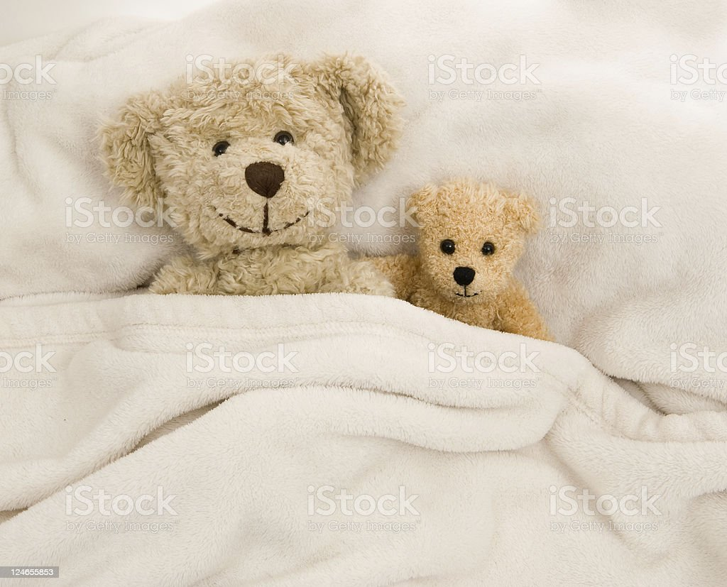 Nite-Nite Time for Teddy Bears royalty-free stock photo