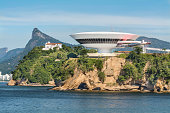 Niteroi Museum church and Christ the Redeemer