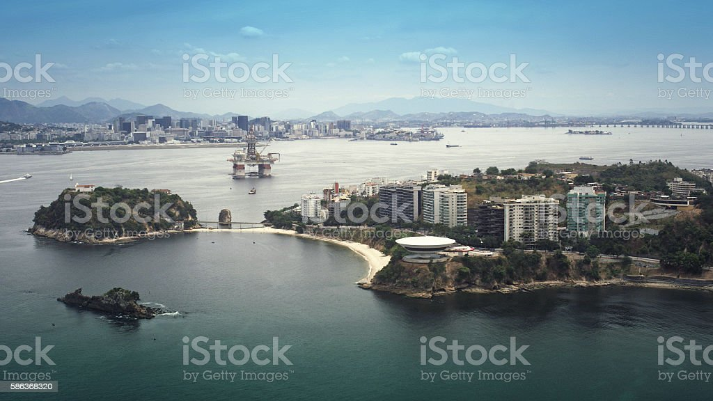 Rio Niteroi stock photo