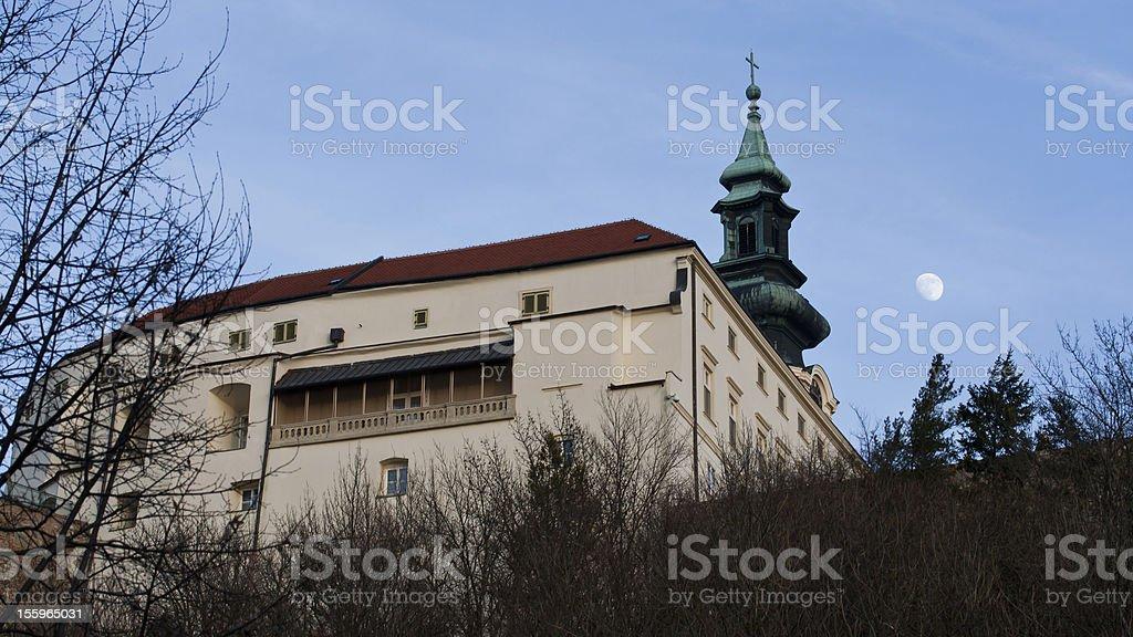 Nitra city cathedral royalty-free stock photo