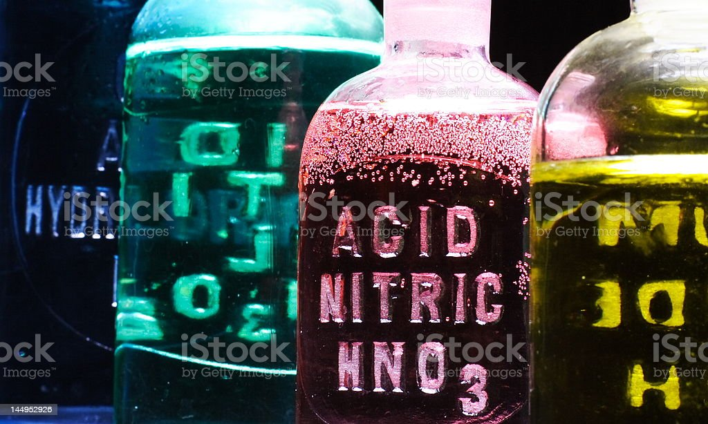 Nitric Acid royalty-free stock photo
