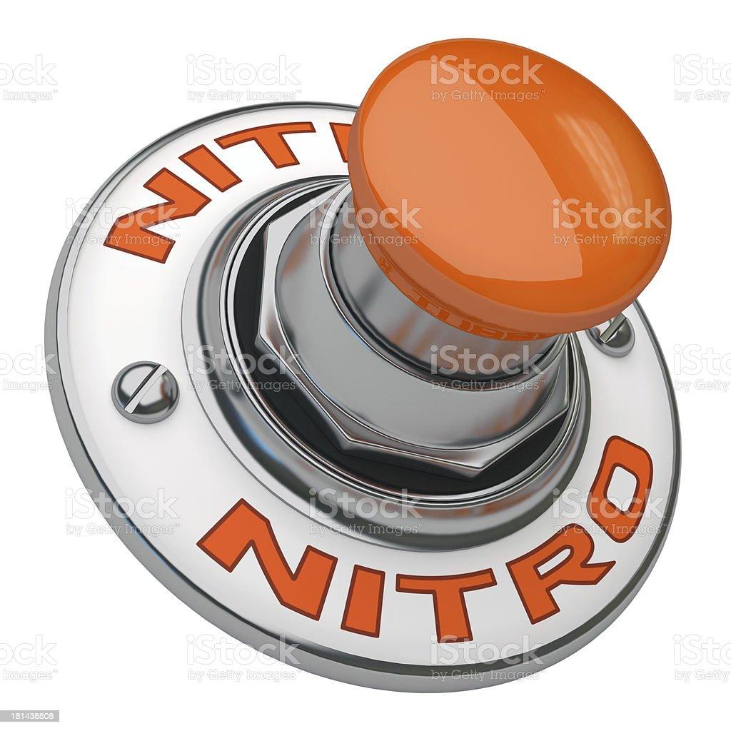 Nitro Button royalty-free stock photo
