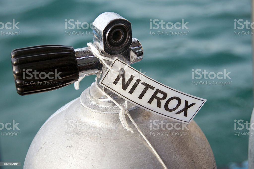 Nitrox Diving stock photo