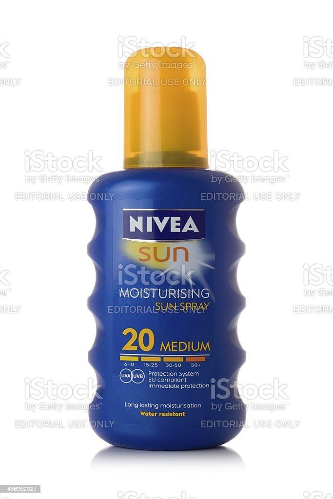 Nivea sun Lotion royalty-free stock photo