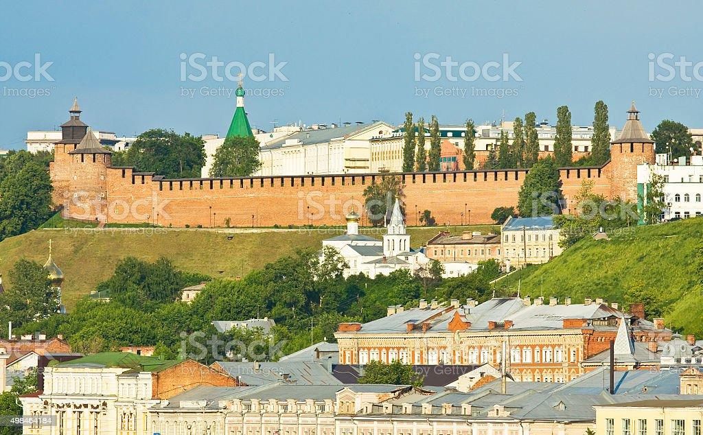 Nizhni Novgorod stock photo