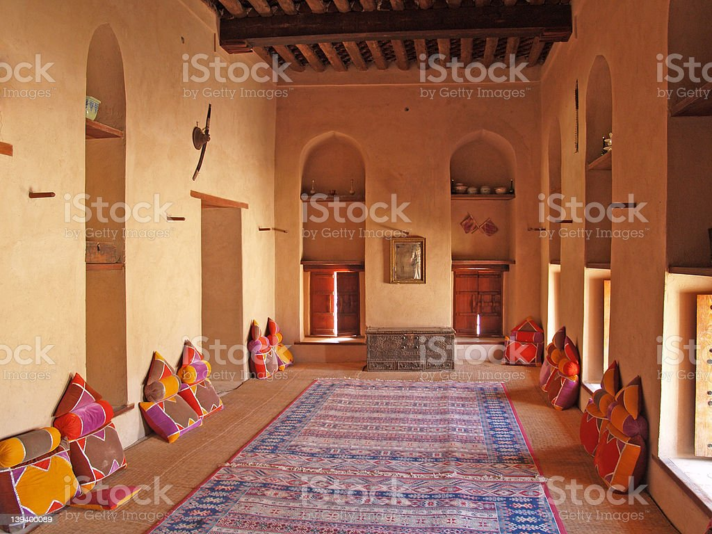 Nizwa majlis 2 royalty-free stock photo