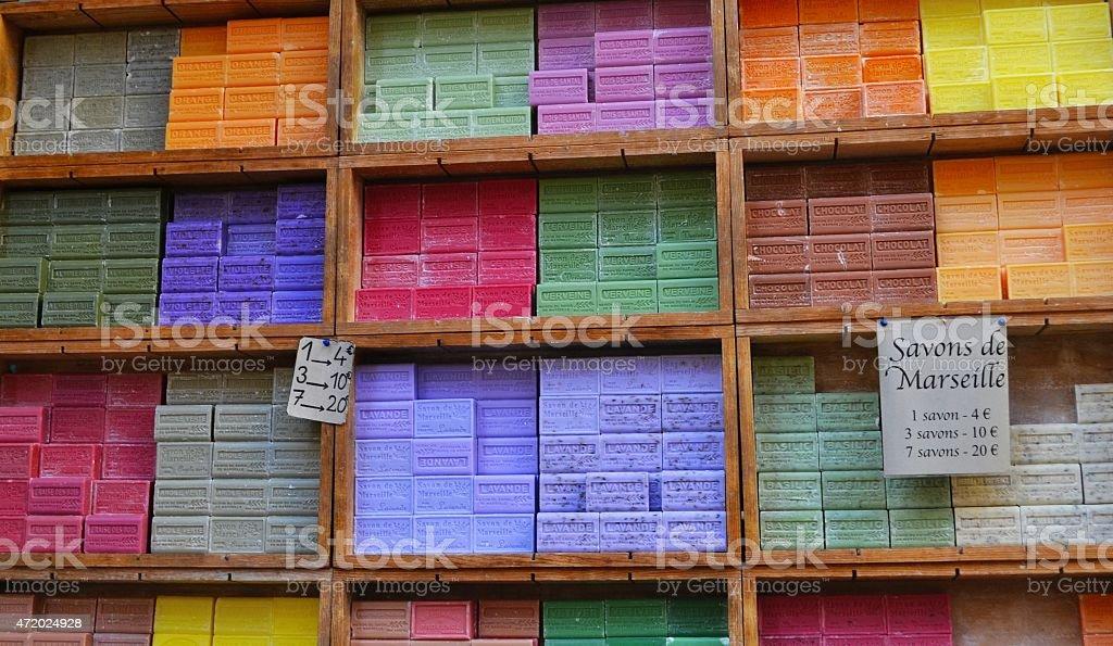 Nizza, Costa Azzurra. Street market stock photo