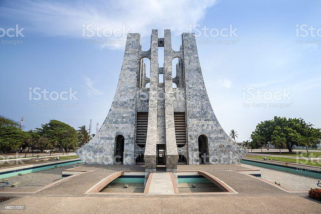 Nkrumah Memorial Park, Accra, Ghana stock photo