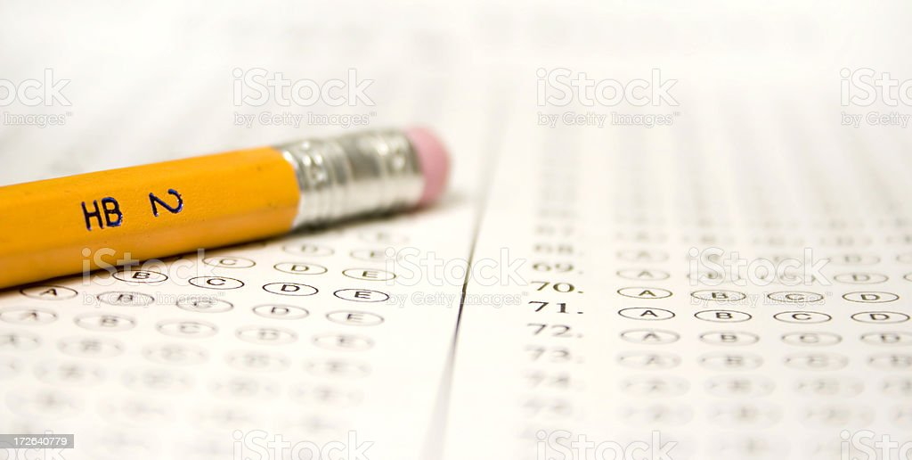 No. 2 Pencil royalty-free stock photo
