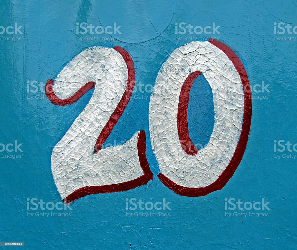 no 20 royalty-free stock photo