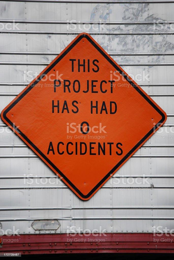 No Accidents stock photo