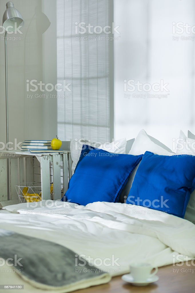No better place for relax in winter night stock photo