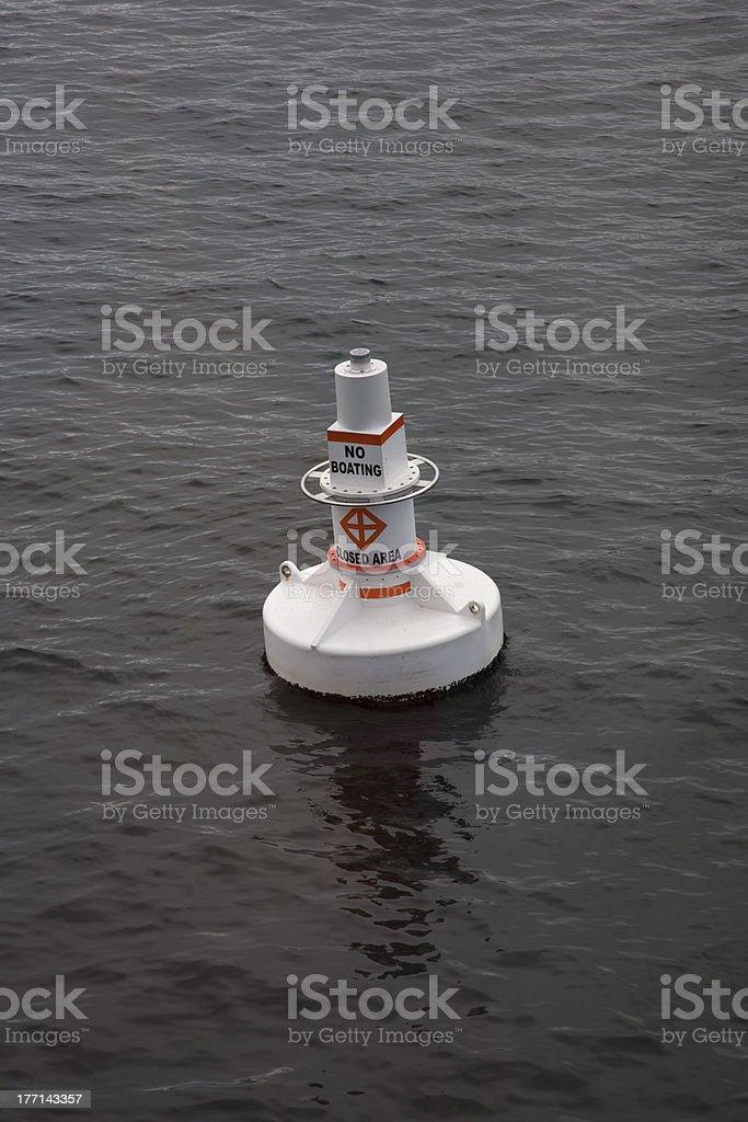 No Boating royalty-free stock photo