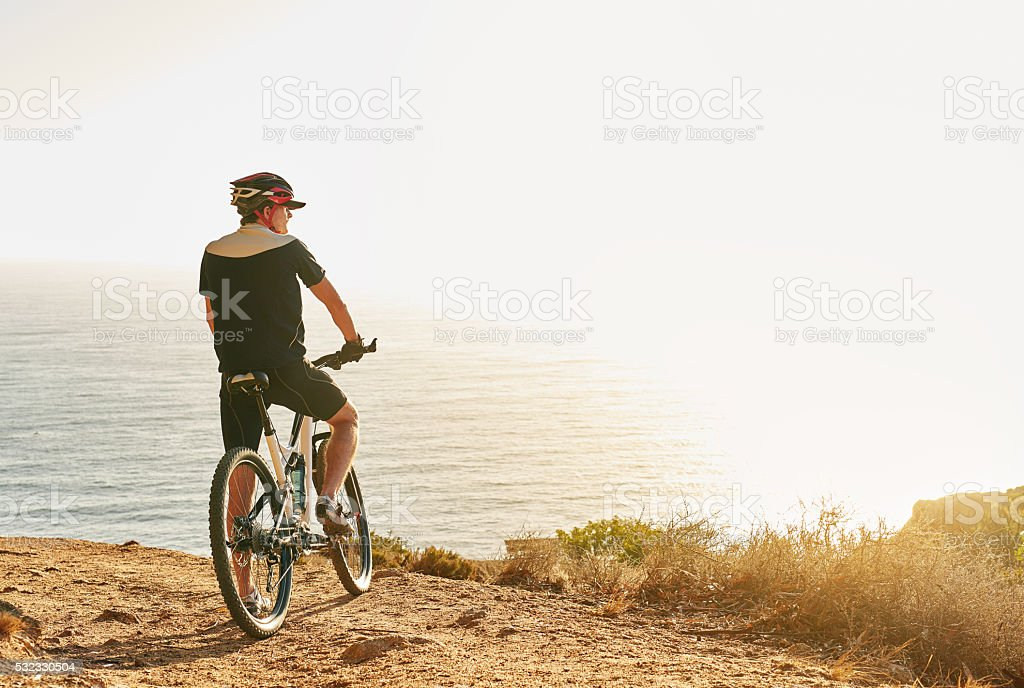 No bucket list but my bikeit list is a mile long stock photo