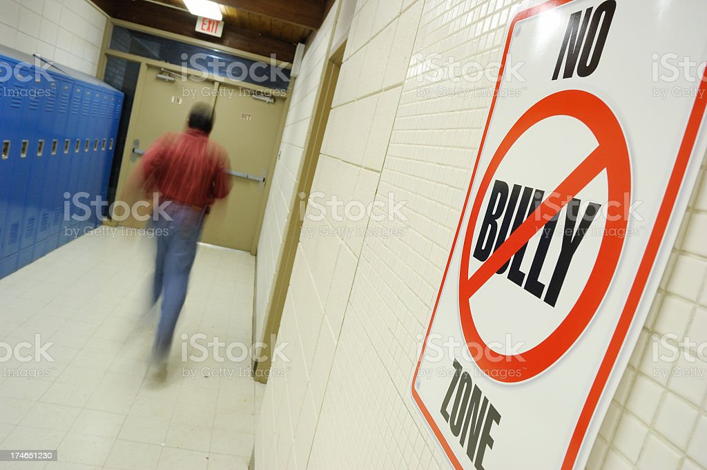 No Bullying royalty-free stock photo