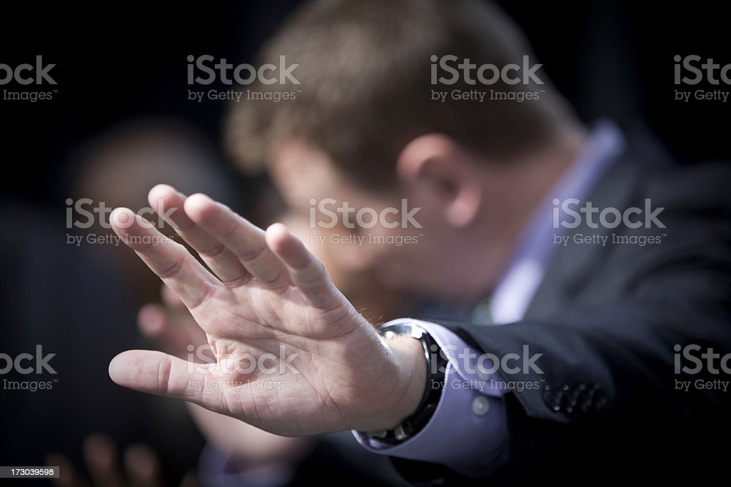 No Comment! royalty-free stock photo
