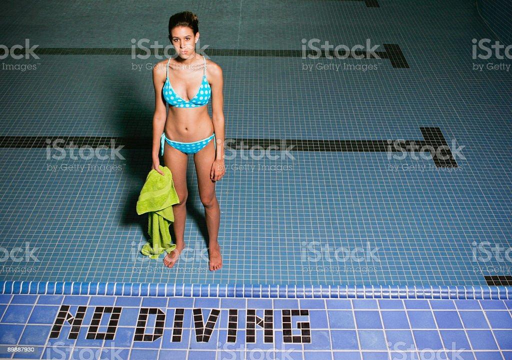 No Diving royalty-free stock photo