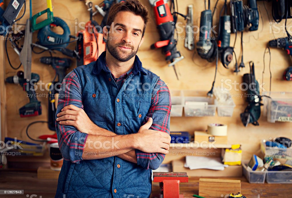 No DIY project is too big for me stock photo