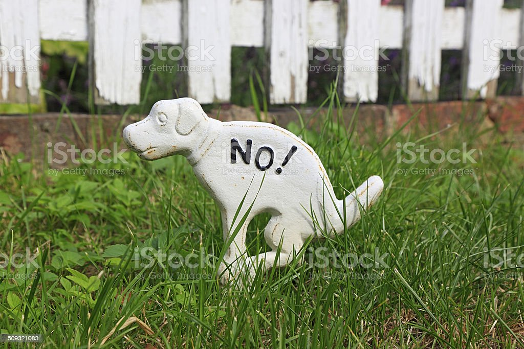 No dog pooping sign royalty-free stock photo